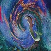 Homecoming Mermaid Poster