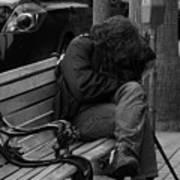 Homeless - Bw Poster
