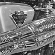 Honda Cl450 Scrambler Poster by William Jones