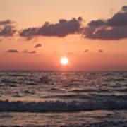 Honey Moon Island Sunset Poster