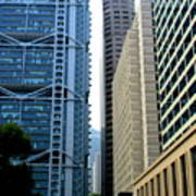 Hong Kong Architecture 49 Poster