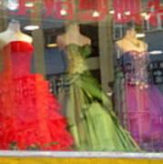Hong Kong Dress Shop Poster