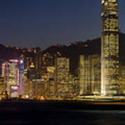 Hong Kong Harbor December 1 Poster