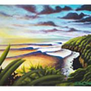 Honolua Bay Poster