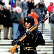 Honor Guard At Arlington Cemetery Poster