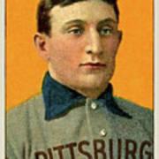 Honus Wagner, Pittsburg Pirates Poster