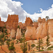 Bryce Hoodos And Spires Poster