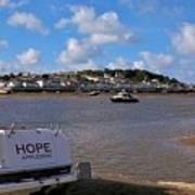 Hope Appledore Devon Poster