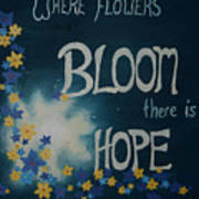 Hope Blossoms Poster