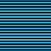 Horizontal Black Inside Stripes 18-p0169 Poster
