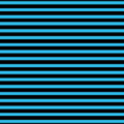 Horizontal Black Outside Stripes 18-p0169 Poster