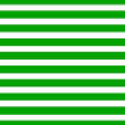 Horizontal White Inside Stripes 09-p0169 Poster