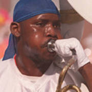 Horn Blower Poster