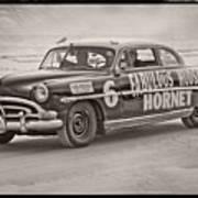 Hornet On Daytona Beach Poster