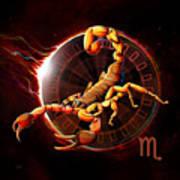 Horoscope Signs-scorpio Poster