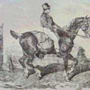 Horse Carriage Poster