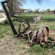 Horse Drawn Sickle Mower Poster