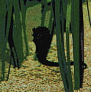 Horse In The Grass Poster