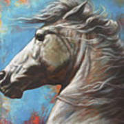 Horse Power Poster by Harvie Brown
