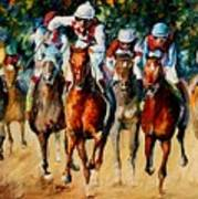 Horse Race Poster