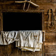 Horse Stall Poster