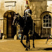 Horseguards. Poster