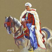 Horseriding Spahi Recruit Poster