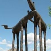 Horses In Sedona Poster