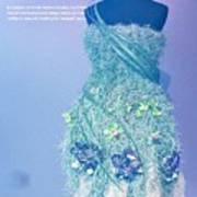 Horticouture Vogue Dress Exhibit Poster