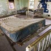 Hospital Bed Preston Castle Poster