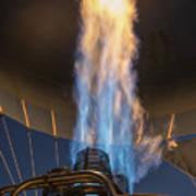 Hot Air Balloon Gas Burner Poster