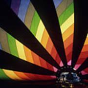Hot Air Baloon Poster