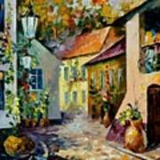 Hot Noon Original Oil Painting  Poster