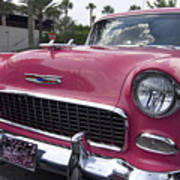 Hot Pink Chevy Poster