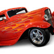 Hot Rod Ford Coupe 1932 Poster