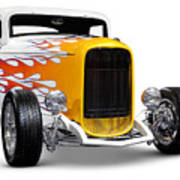 Hot Rod Ford Hi-boy Coupe 1932 Poster