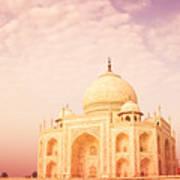 Hot Taj Mahal Poster