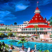 Hotel Coronado Poster