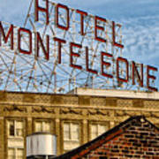 Hotel Monteleone - New Orleans Poster