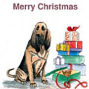 Hounddog Christmas Poster