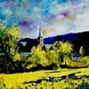 Hour Village Belgium Poster