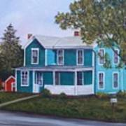 House in Seward Poster