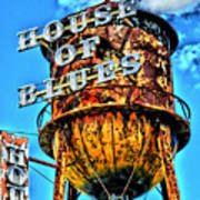 House Of Blues Orlando Poster by Corky Willis Atlanta Photography