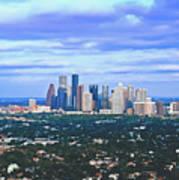 Houston 1980s Poster