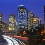 Houston City Life Poster