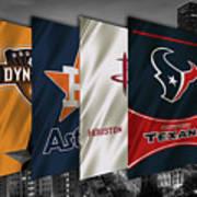 Houston Sports Teams 2 Poster
