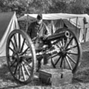 Howitzer Battle Of Honey Springs V4 Poster