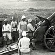 Howitzer Gun Turke World War Poster