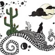 An Evening In The Desert Poster