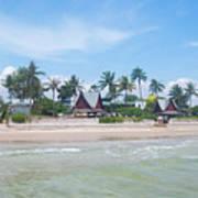 Huahin Beach View Poster